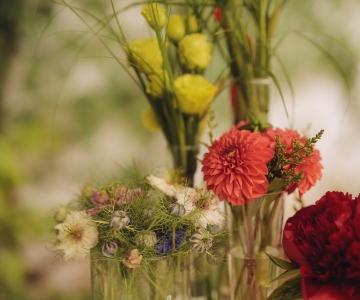 Tafeldecoratie tuinfeest